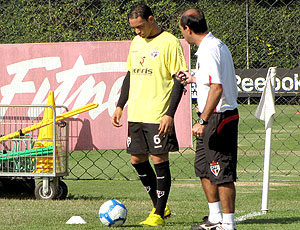 Ricardo Oliveira treino São Paulo