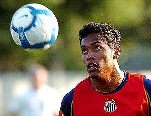 Alex Sandro, jogador Santos