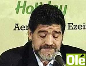 Maradona coletiva reprodução Olé