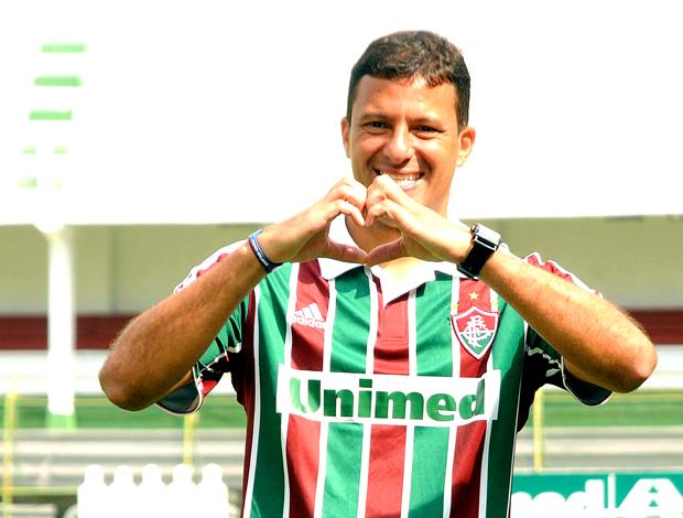 Washington apresentação Fluminense
