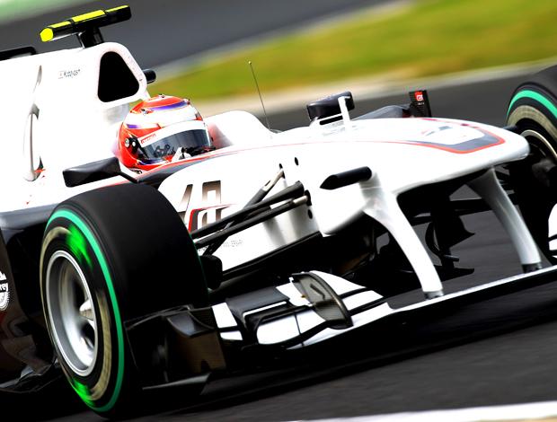Kamui Kobayashi pilot Sauber