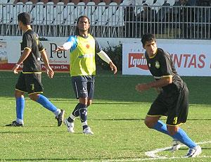 Carlos Alberto no jogo-treino do Vasco