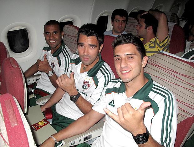 Julio Cesar Deco Marquinho Fluminense