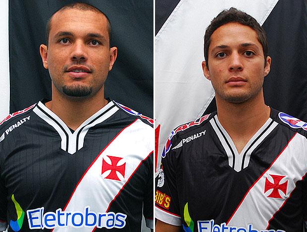 Marcel e Anderson Martins novos reforços do Vasco