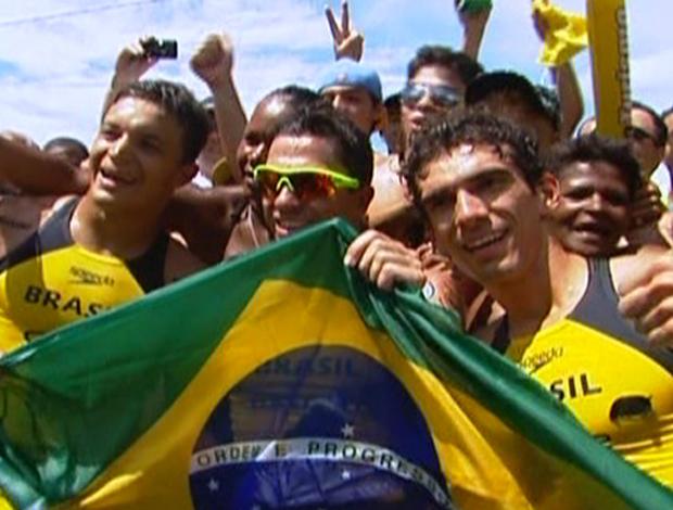 Mundialito Masculino de Triatlo Rápido no Guarujá