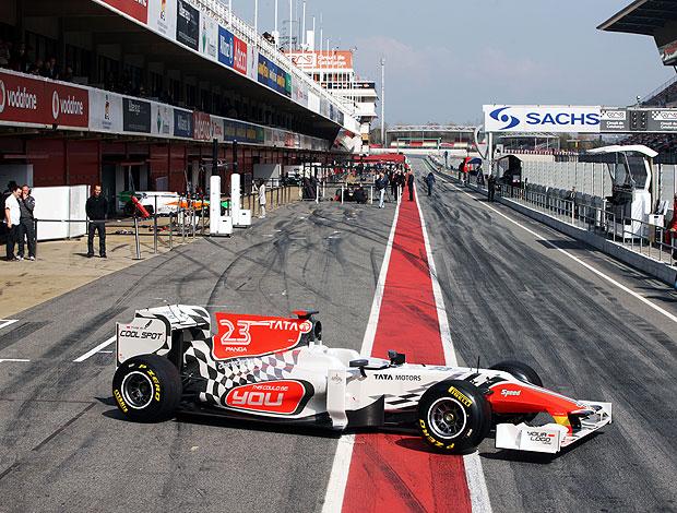 hispania novo carro fórmula 1 (Foto: Divulgação)