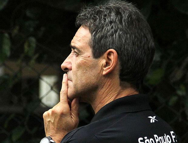 Paulo Cesar Carpegiani no treino do São Paulo (Foto: João Neto / VIPCOMM)
