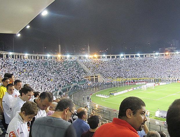 pacaembu santos x deportivo tachira (Foto: Adilson Barros/Globoesporte.com)