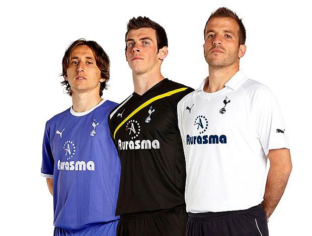 Tottenham apresenta novo uniforme (Foto: Divulgação)