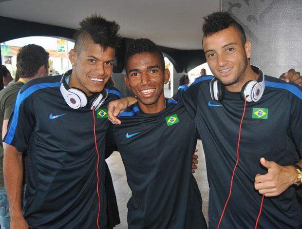 cidinho rafael leandro seleção brasileira futebol  pan guadalajara (Foto: João Gabriel Rodrigues / GLOBOESPORTE.COM)