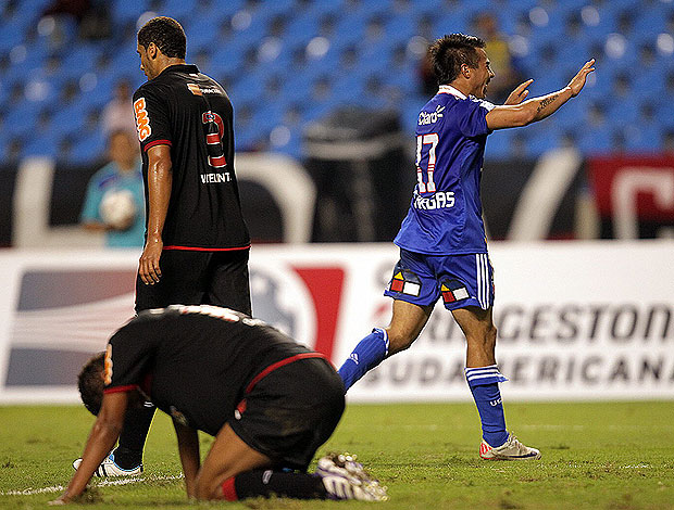 vargas flamengo x universidad do chile (Foto: EFE)