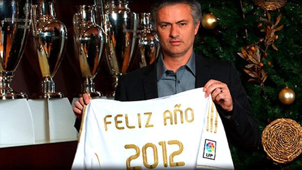 José Mourinho técnido do Real Madrid  (Foto: Divulgação / Site Oficial do Real Madrid)