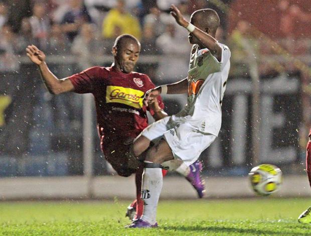 Santos x Desportivo Brasil pela Copinha (Foto: Celio Messias/Agência Estado)