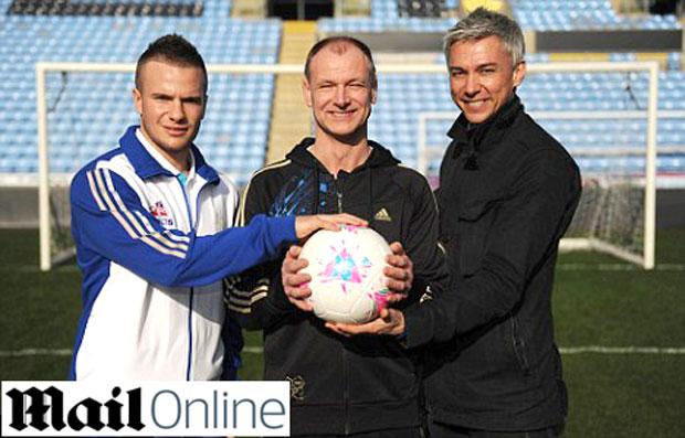bola Londres Olimpíadas 2012 (Foto: Reprodução / Mail Online)