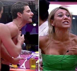 Fabiana grita: 'Prefiro sair daqui a viver com pessoas como você' (BBB / TV Globo)