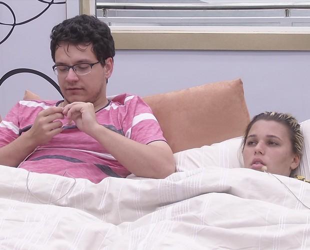 BBB às 15h52m do dia 02/02. (Foto: Big Brother Brasil)