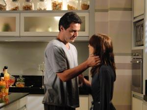 Mauro conforta Diana