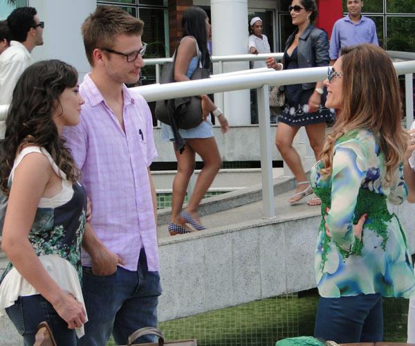 Tereza Cristina conhece Alexandre