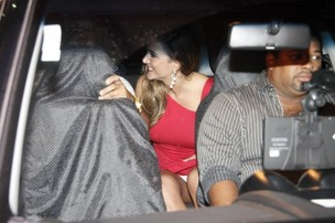 Ex-BBB Laisa deixa festa de encerramento do 'BBB 12 ' no Rio (Foto: Philippe Lima/ Ag.News)