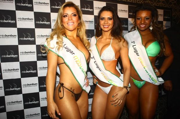 Concurso Miss Bumbum em São Paulo (Foto: Iwi Onodera/ EGO)