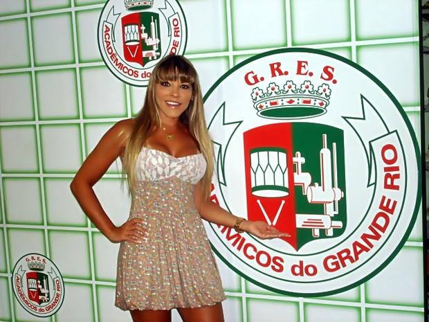 Amanda Pinheiro do Zorra Total na Grande Rio (Foto: Divulgação/Divulgação)