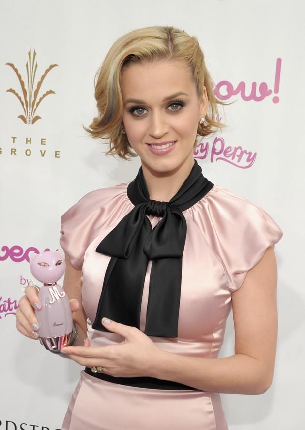 Katy Perry lança o perfume 'Meow' em Los Angeles, nos Estados Unidos (Foto: Getty Images/ Agência)