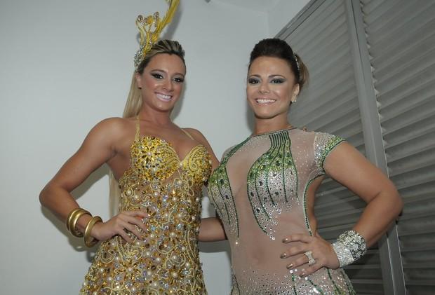 Juju Salimeni e Viviane Araújo (Foto: Francisco Cepeda  / AgNews)