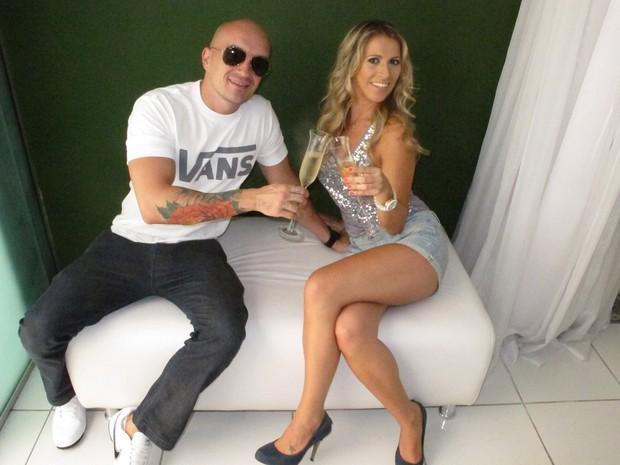Felipe Soldati e Camila Pastorini (Foto: Bárbara Duffles / EGO)
