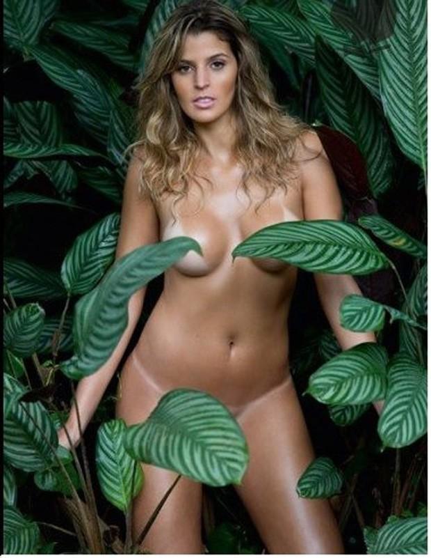 Mari Paraíba em ensaio para a Playboy (Foto: Reprodução)