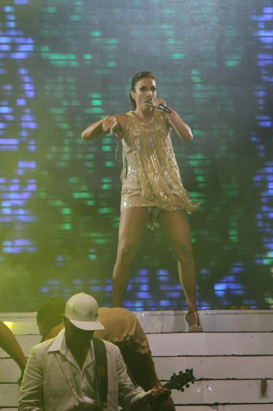 Ivete Sangalo se apresenta no Festival de verão de Salvador, na Bahia (Foto: Fred Pontes/ Divulgação)