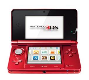 Nintendo 3DS vermelho (Foto: Divulgação/Nintendo)