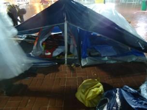 Movimento Ocupe Wall Street em Salvador (Foto: Lílian Marques/G1)