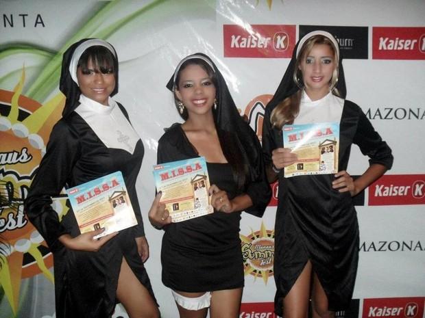 Ação promocional da empresa no Summer Fest Manaus (Foto: Divulgação)