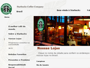 Starbucks Coffee Brasil seleciona candidatos para 40 vagas em SP