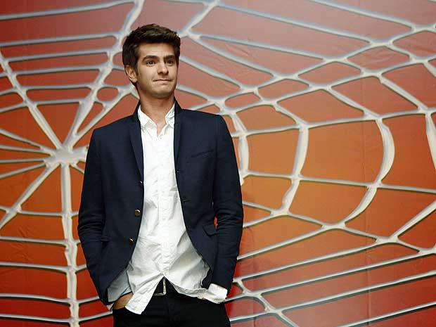 O ator Andrew Garfield, de 26 anos, será o novo Homem-Aranha.