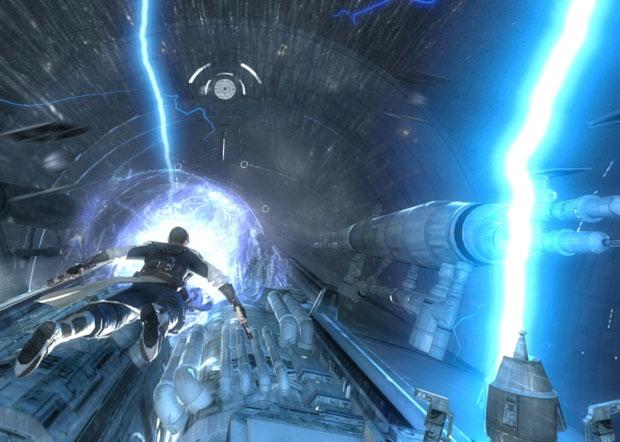 A história de 'Force Unleashed II' é descartável, mas alguns momentos chegam a empolgar o jogador.