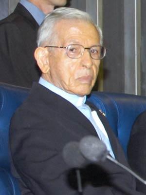 Dom Manuel da Cruz durante sessão especial no Senado Federal nesta terça-feira (21)