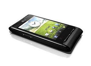 Manual on-line do smartphone LG GT540 (foto), apresentou dados de clientes.