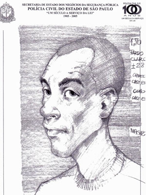 retrato falado godói (Foto: Divulgação)