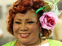 Alcione, cantora (Foto: Agência Estado)