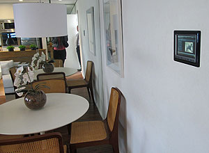 Prédio OneBrooklin possui automação residencial tecnologia casa do futuro (Foto: Laura Brentano/G1)