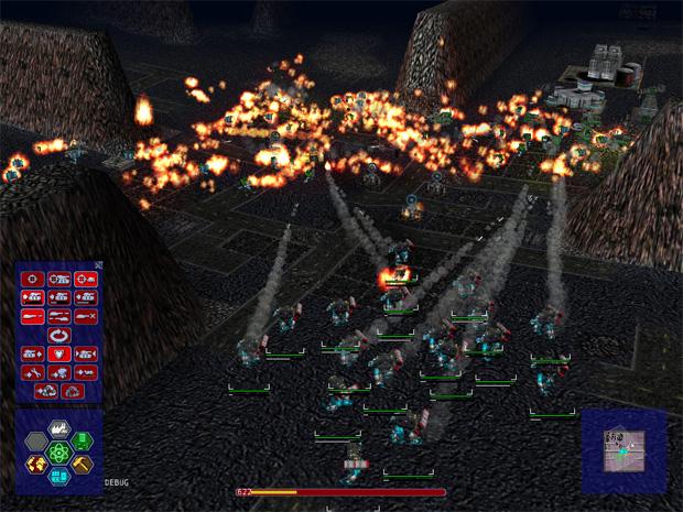 'Warzone 2100' foi o primeiro jogo de estratégia em tempo real 100% 3D (Foto: Reprodução)