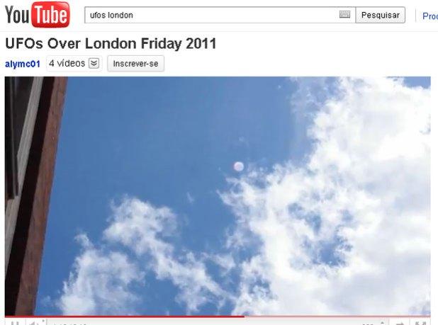 Gravação foi postada na internet (Foto: Reprodução/youtube.com)