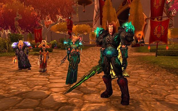 'World of Warcraft' permite que jogadores criem seus personagens e interajam com outros usuários para cumprir missões (Foto: Divulgação)