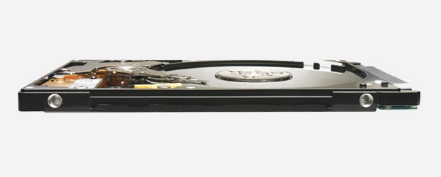 Com espessura de 7 mm, Momentus Thin, da Seagate pode equipar tablets (Foto: Divulgação)
