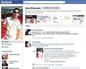 José Rossoni conta receber mais de 2 mil cutucadas hoje (Foto: Reprodução)