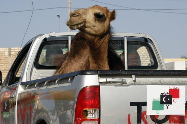 Flagra foi feito em Trípoli. (Foto: Francois Mori/AP)