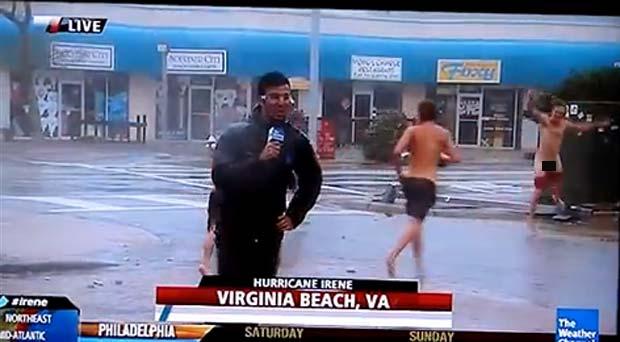 Caso ocorreu no sábado em Virginia Beach. (Foto: Reprodução)