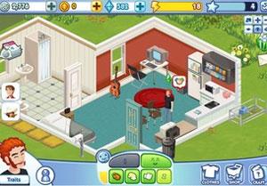 'The Sims Social' é versão de 'The Sims' para o Facebook (Foto: Divulgação)
