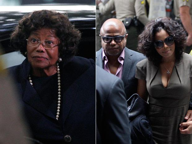 Família de Michael Jackson (Foto: Reuters/Reuters)